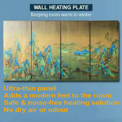 Room Heating Plates