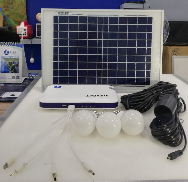 10W Portable Solar Home System