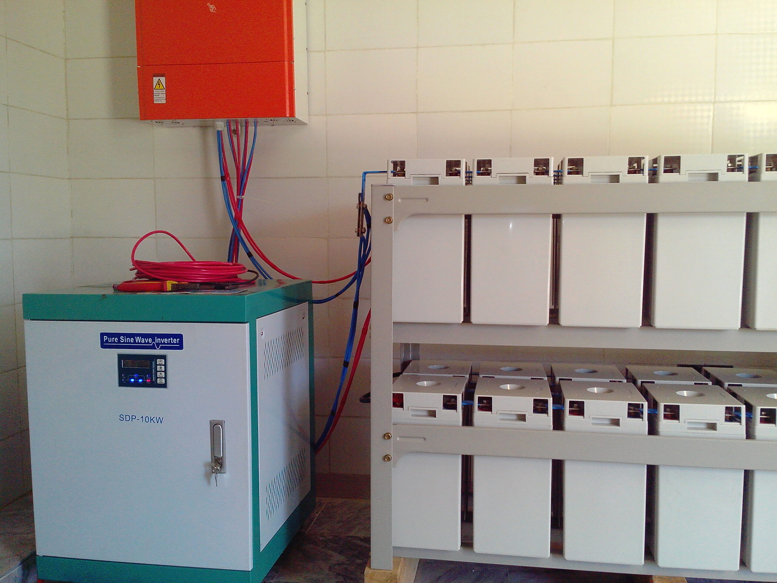 10KW Off-Grid Solar Solution